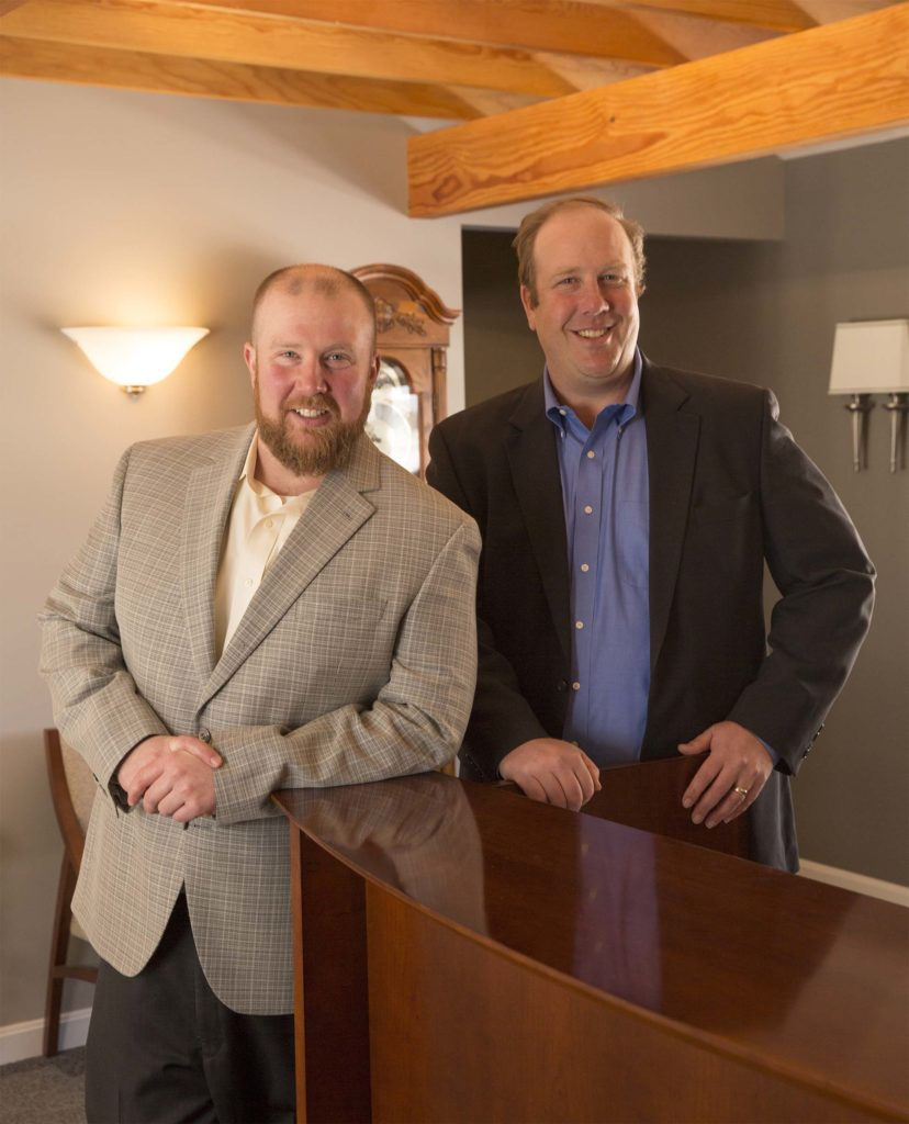 Photo of the owners of davis and towle insurance group